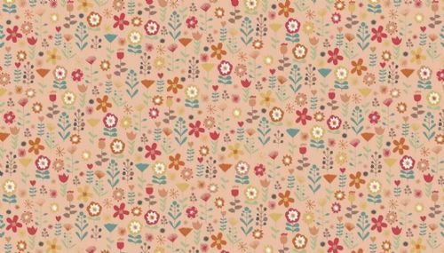 Ellie Floral Cotton Fabric Collection Patchwork Quilting